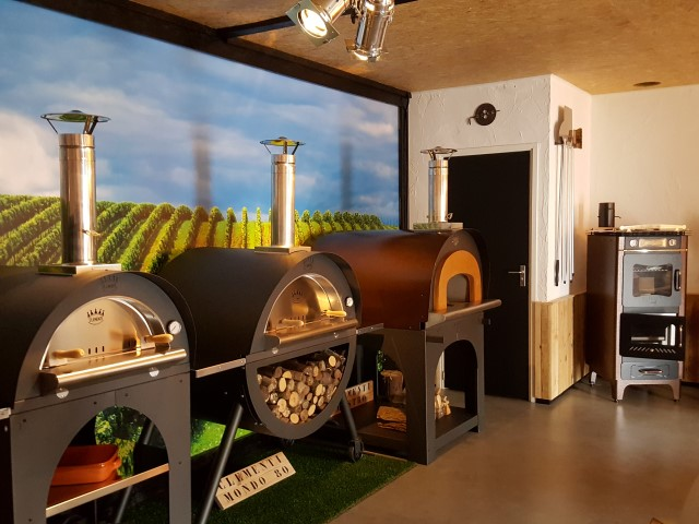 pizzaovens showroom Robust Wonen