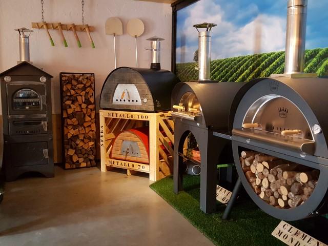 Pizzaovens showroom Robuust Wonen