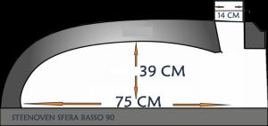 steenoven SFERA BASSO ISOLATO