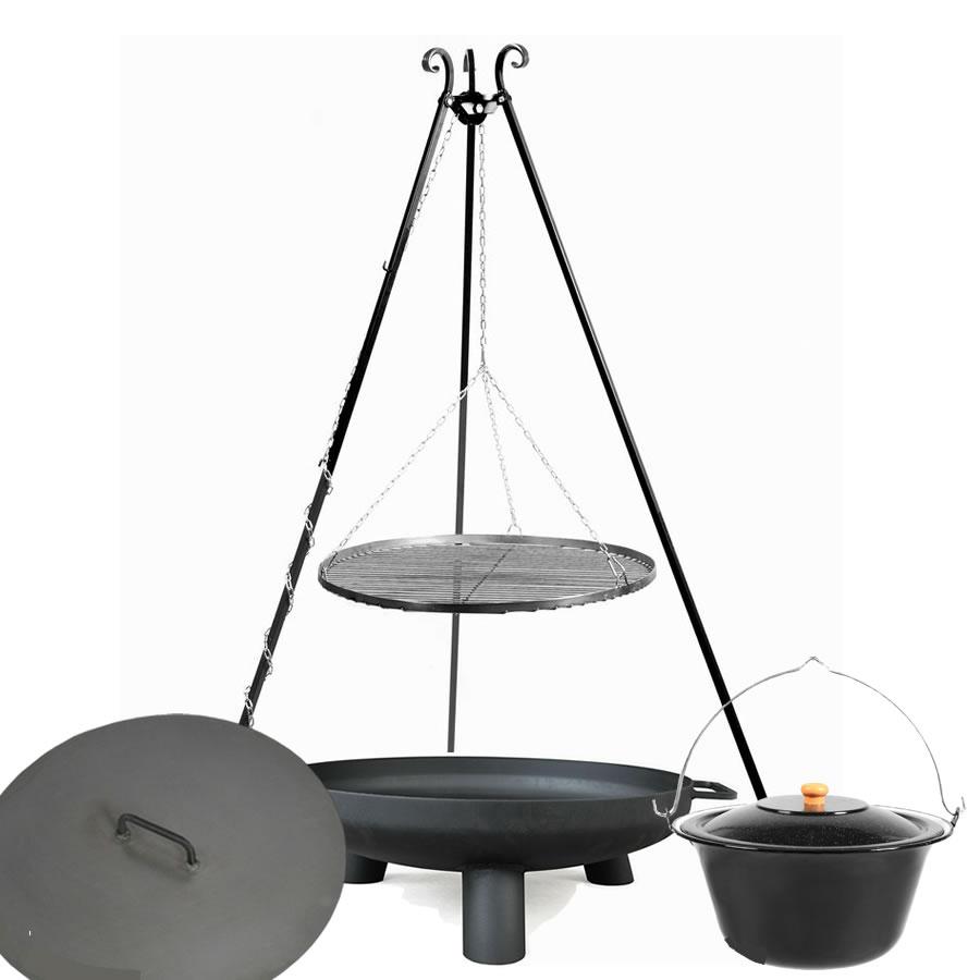 Driepoot BBQ Pan