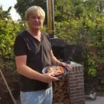 Pizzaoven Sfera Pro Nero Isolato