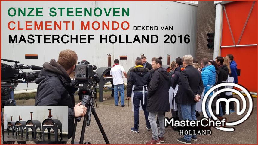 Unser Holzofen Clementi Mondo mit Masterchef Holland