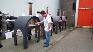 Pizza oven Clementi Mondo bij Masterchef Holland
