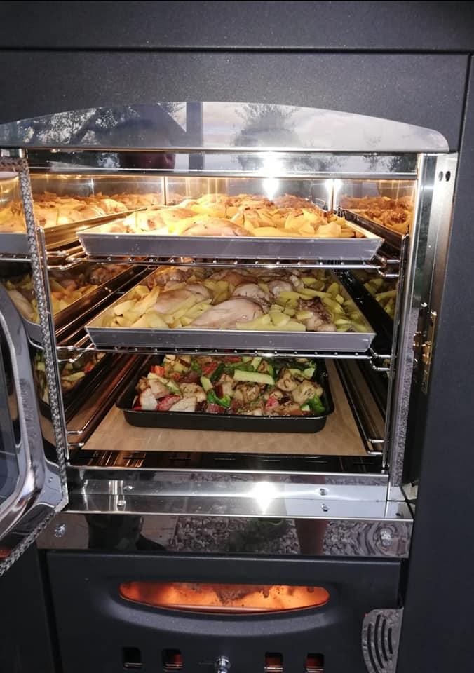 Indirecte houtoven Clementi Cucina