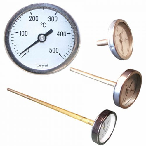 Steenoven thermometers