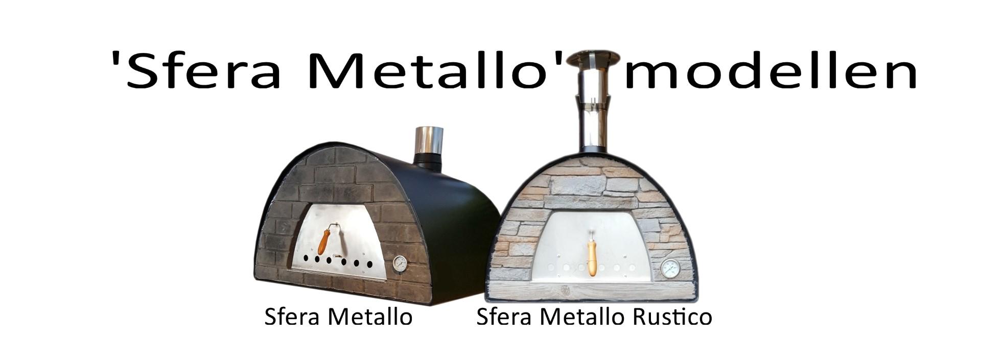 Pizzaovens modellen Sfera Metallo