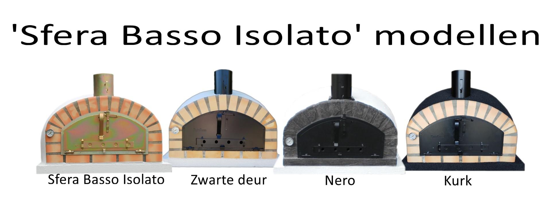 Steenovens modellen Sfera Basso Isolato