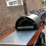 pizza oven Clementi op bakfiets